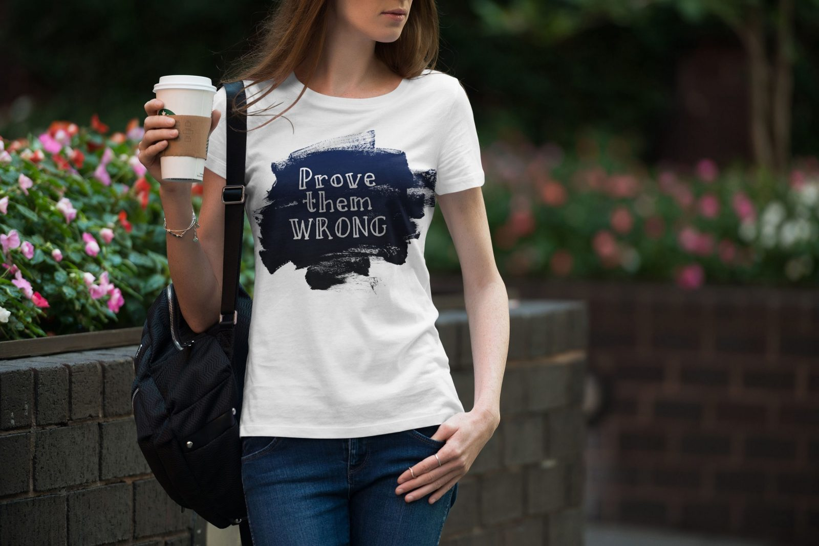 Women's T-shirt Sentence W 001
