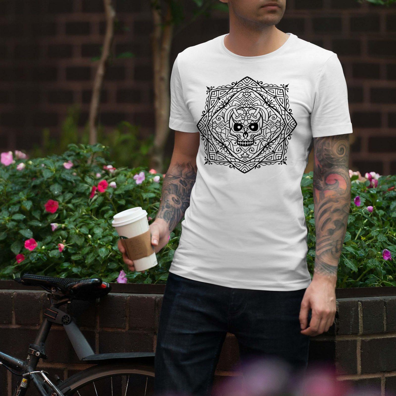 Мъжки тениски Мандала