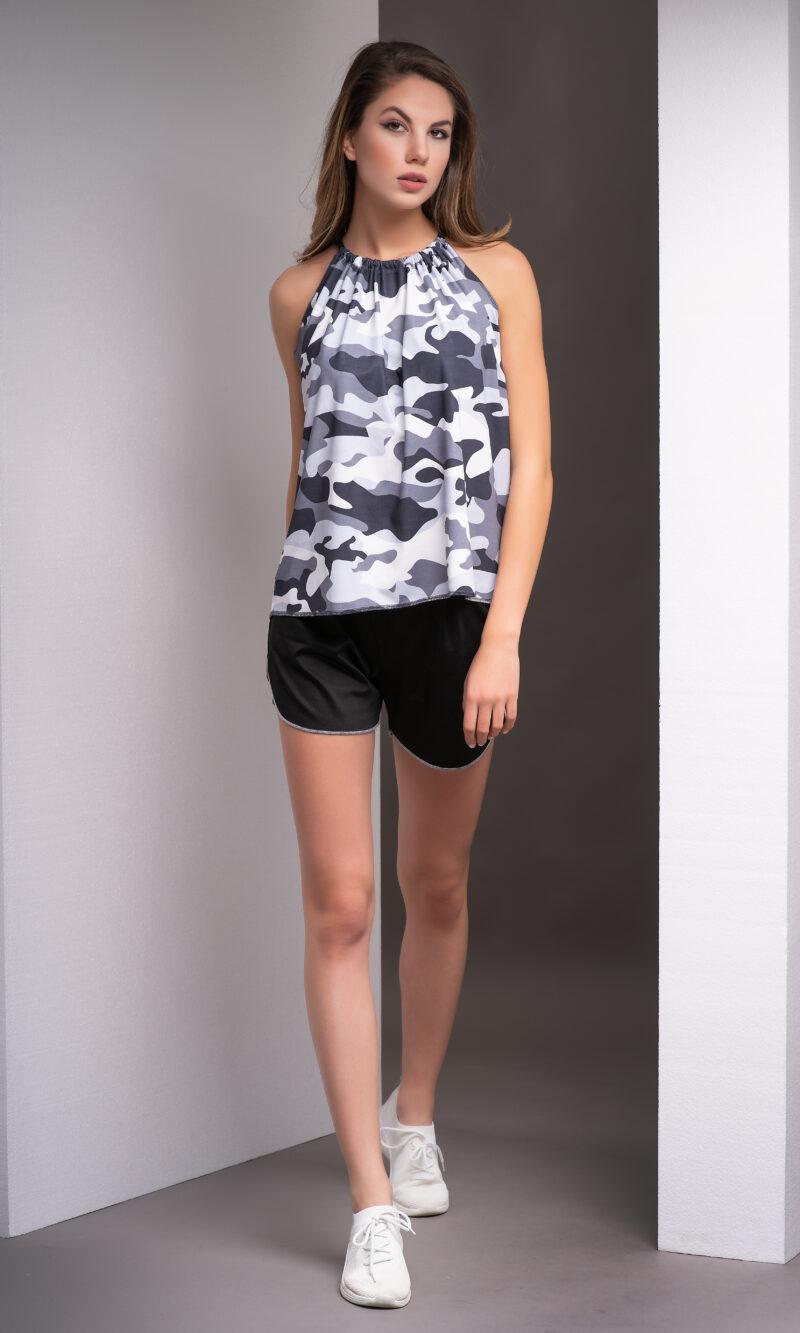 Women's summer sporty-elegant set code 352