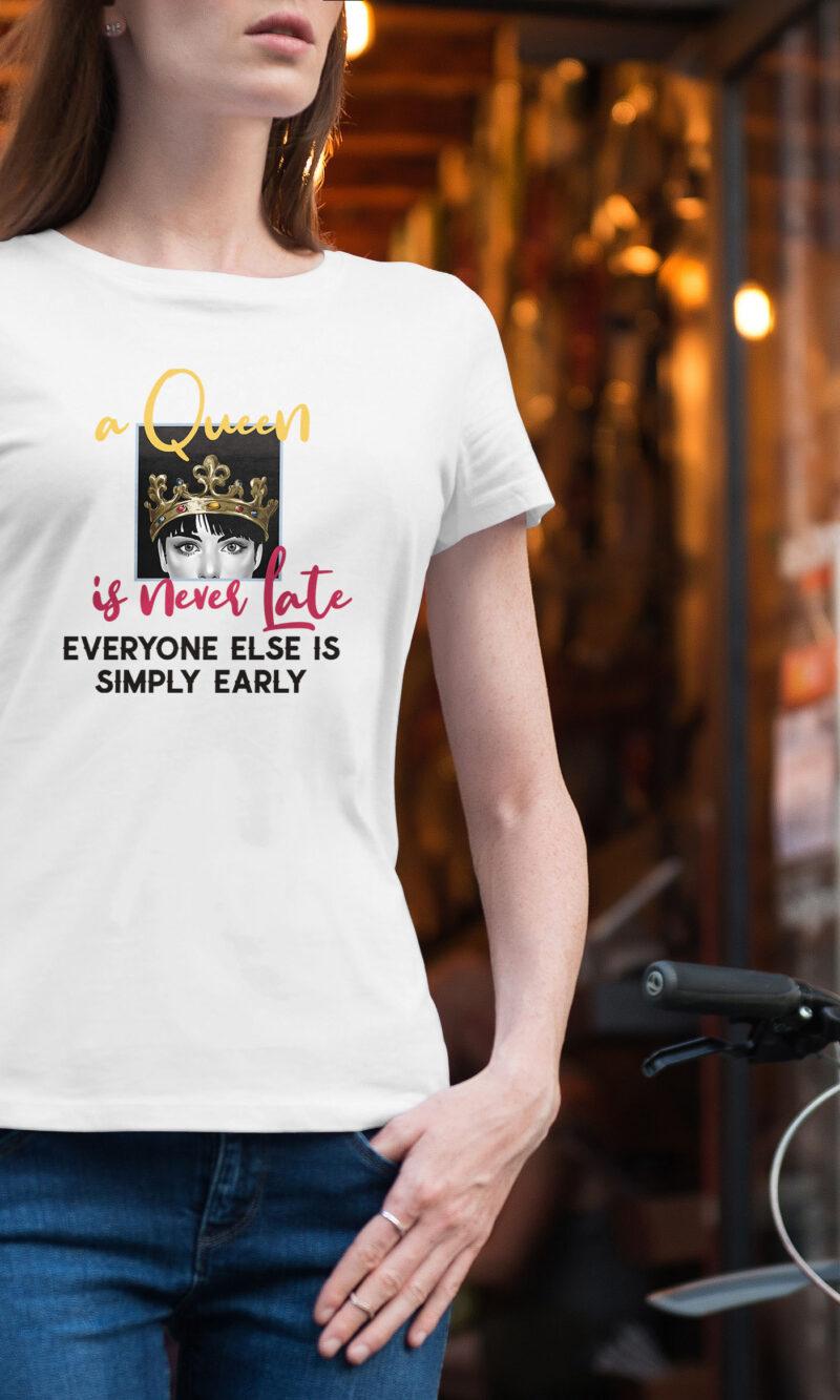 Women's T-shirt Funny W 016