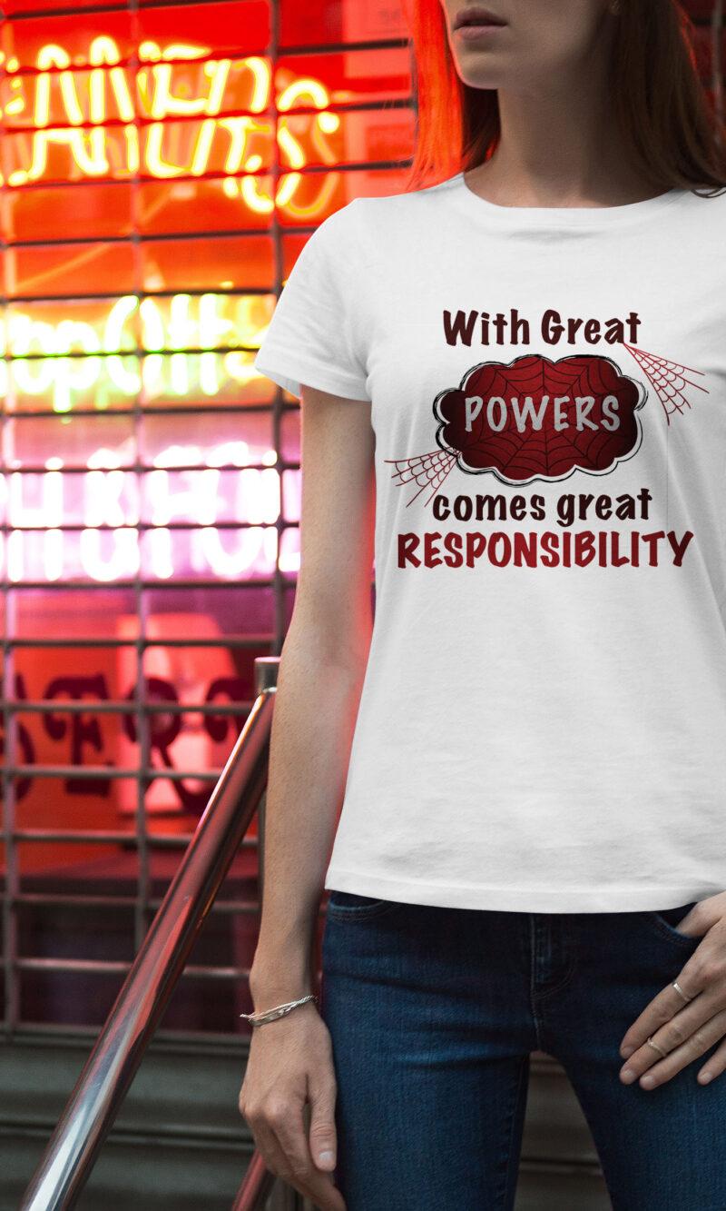 Women's T-shirt Funny W 017
