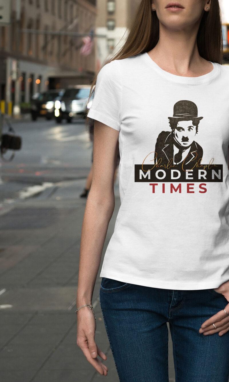 Women's T-shirt Funny W 018