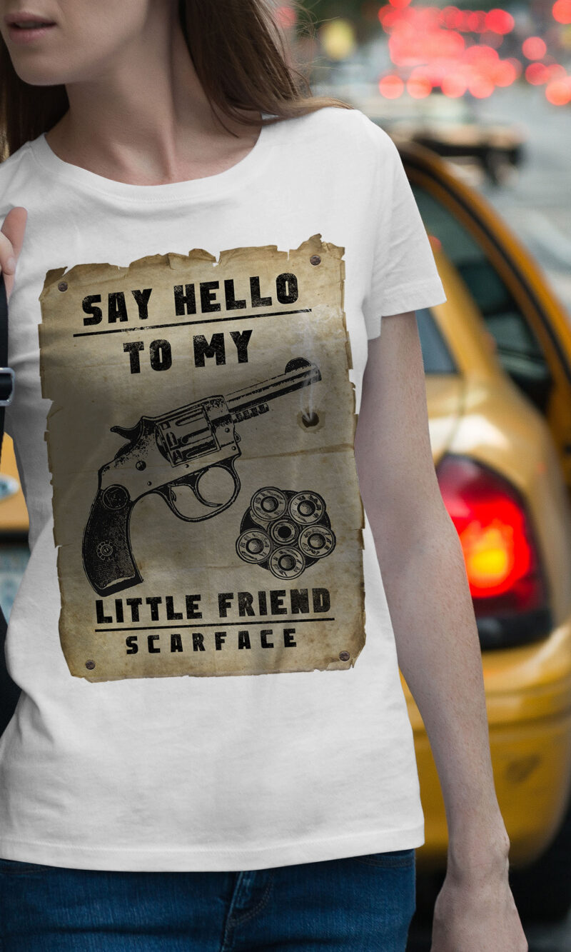 Women's T-shirt Funny W 020