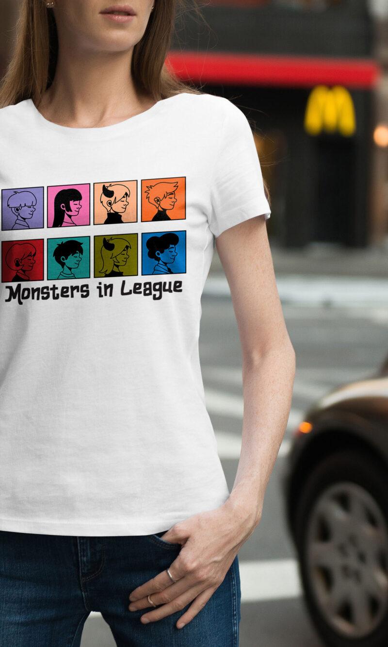 Women's T-shirt Funny W 021
