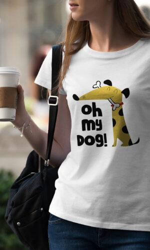 Women's T-shirt Funny W 025