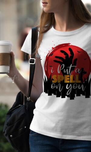 Women's T-shirt Funny W 027