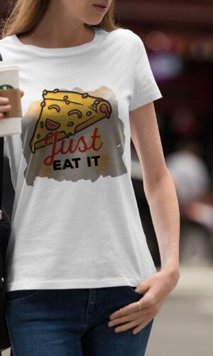 Women's T-shirt Funny W 028