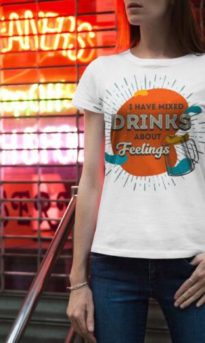 Women's T-shirt Funny W 031