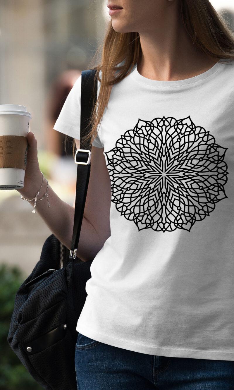 Women's T-shirt Mandala W 001