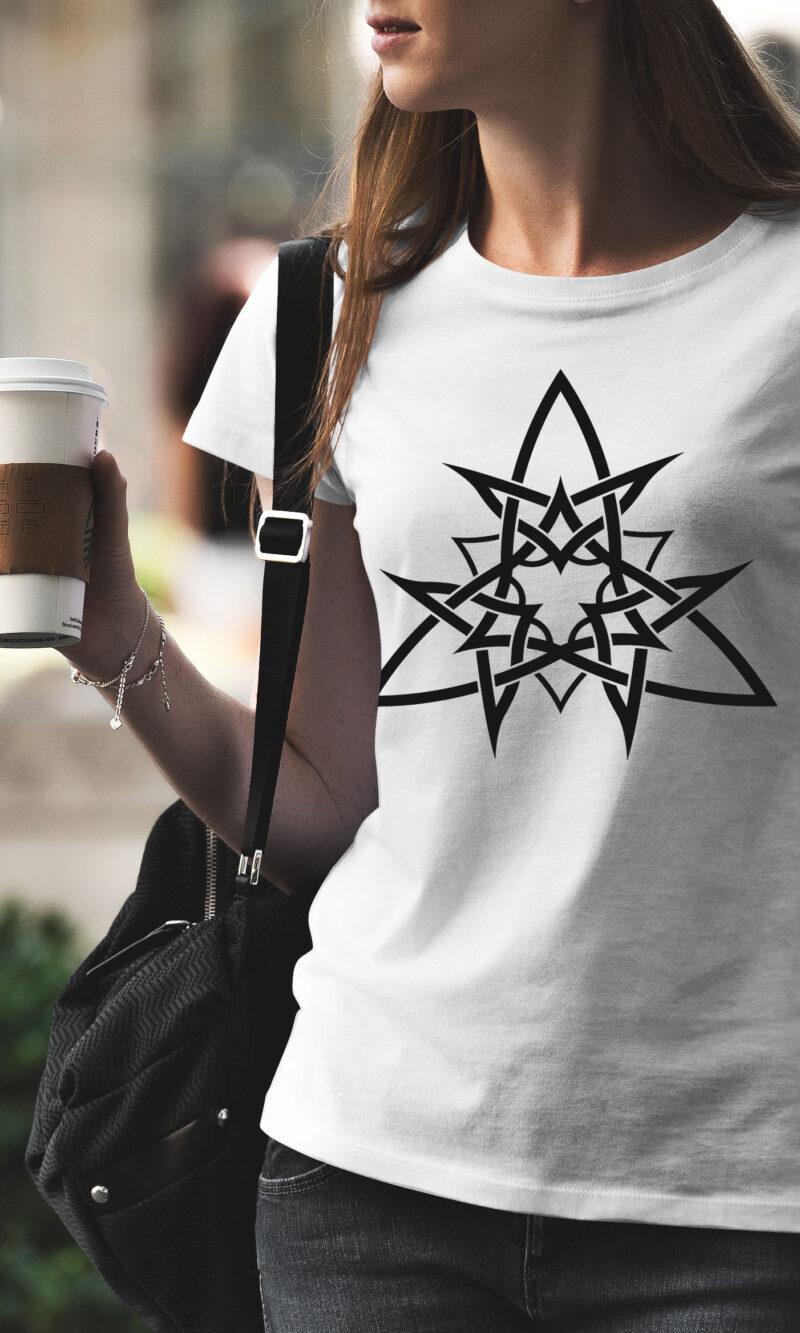Women's T-shirt Mandala W 010
