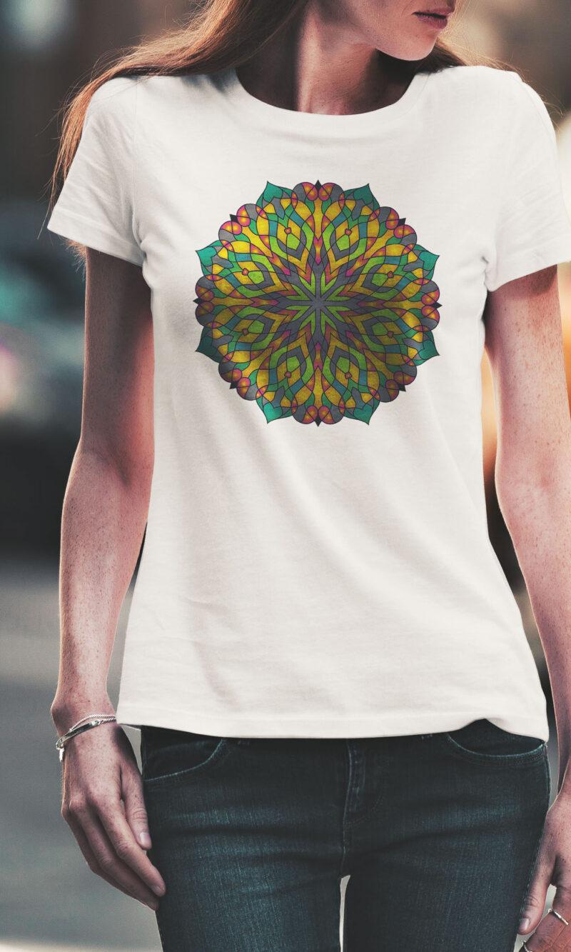 Women's T-shirt Mandala W 011