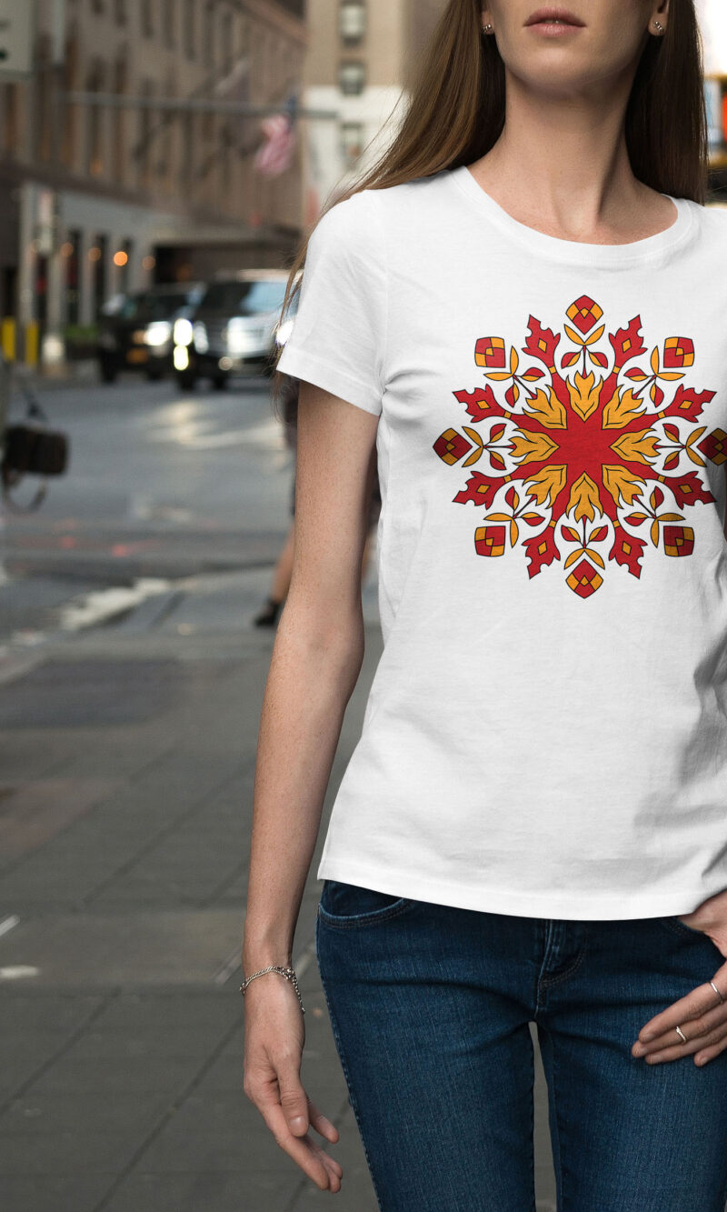 Women's T-shirt Mandala W 012