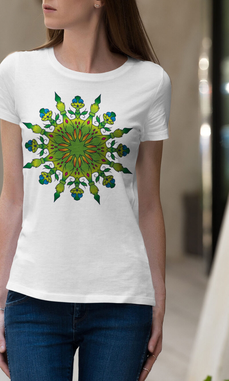 Women's T-shirt Mandala W 013