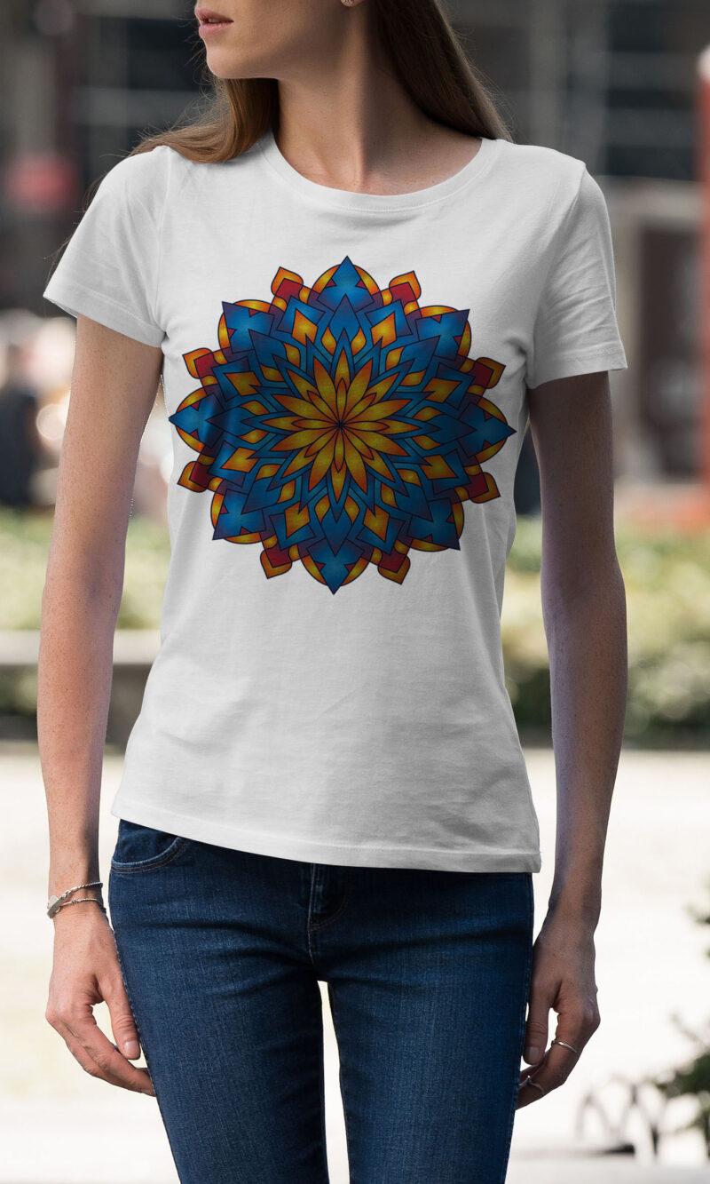Women's T-shirt Mandala W 014
