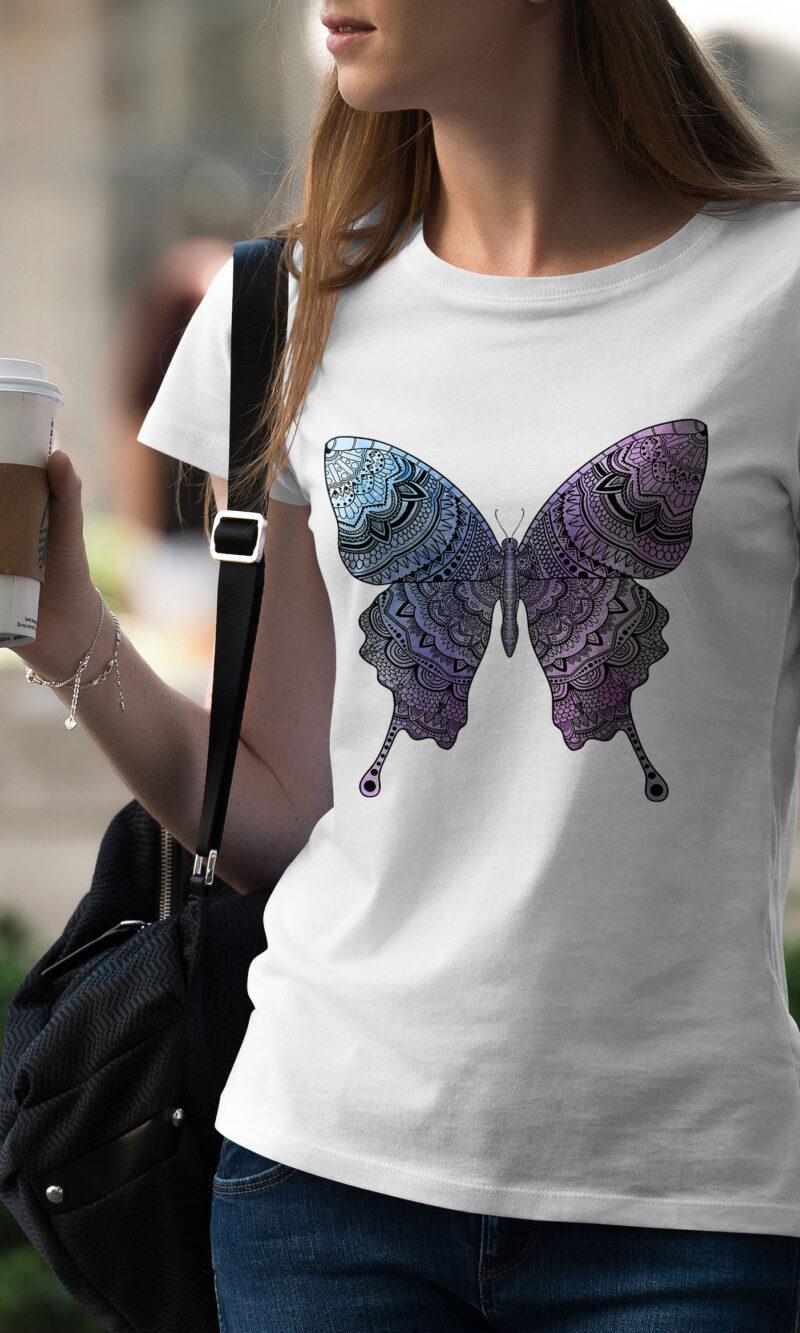 Women's T-shirt Mandala W 016