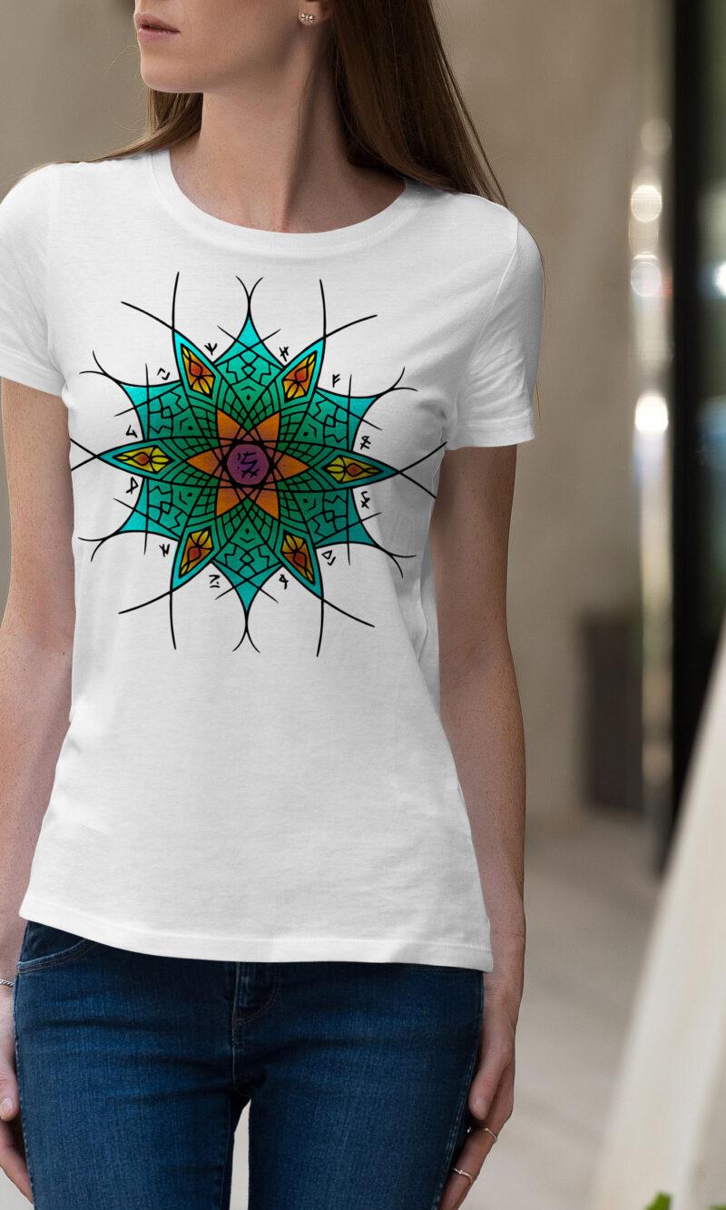 Women's T-shirt Mandala W 017