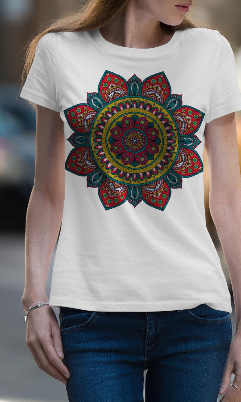Women's T-shirt Mandala W 018