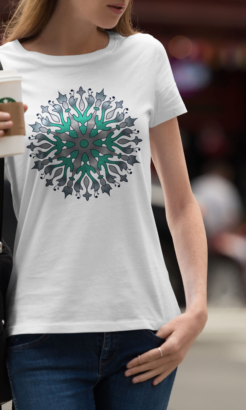 Women's T-shirt Mandala W 002