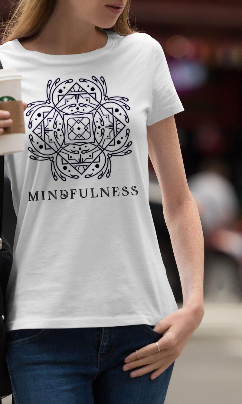 Women's T-shirt Mandala W 020
