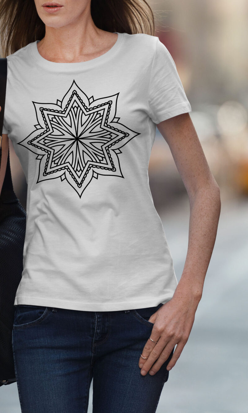 Women's T-shirt Mandala W 004