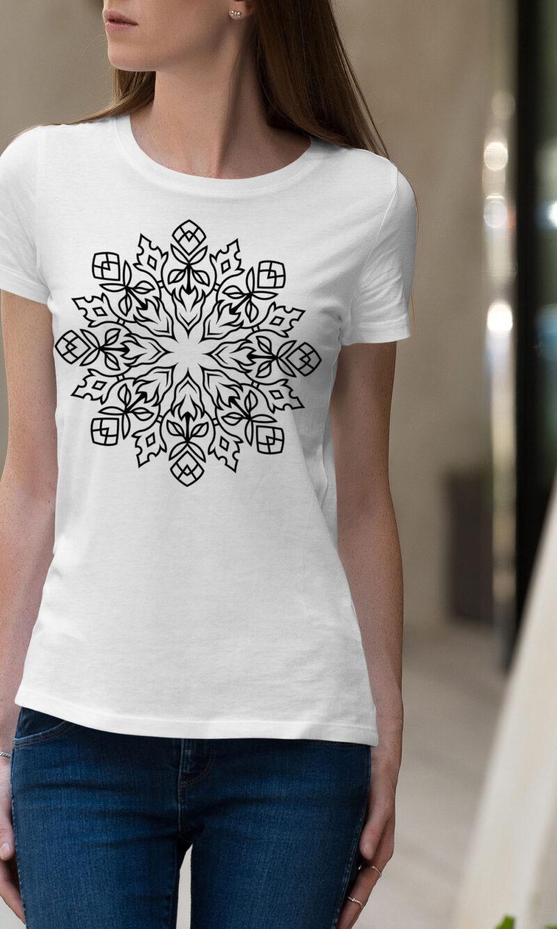 Women's T-shirt Mandala W 005