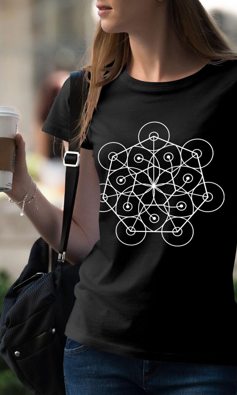 Women's T-shirt Mandala W 007