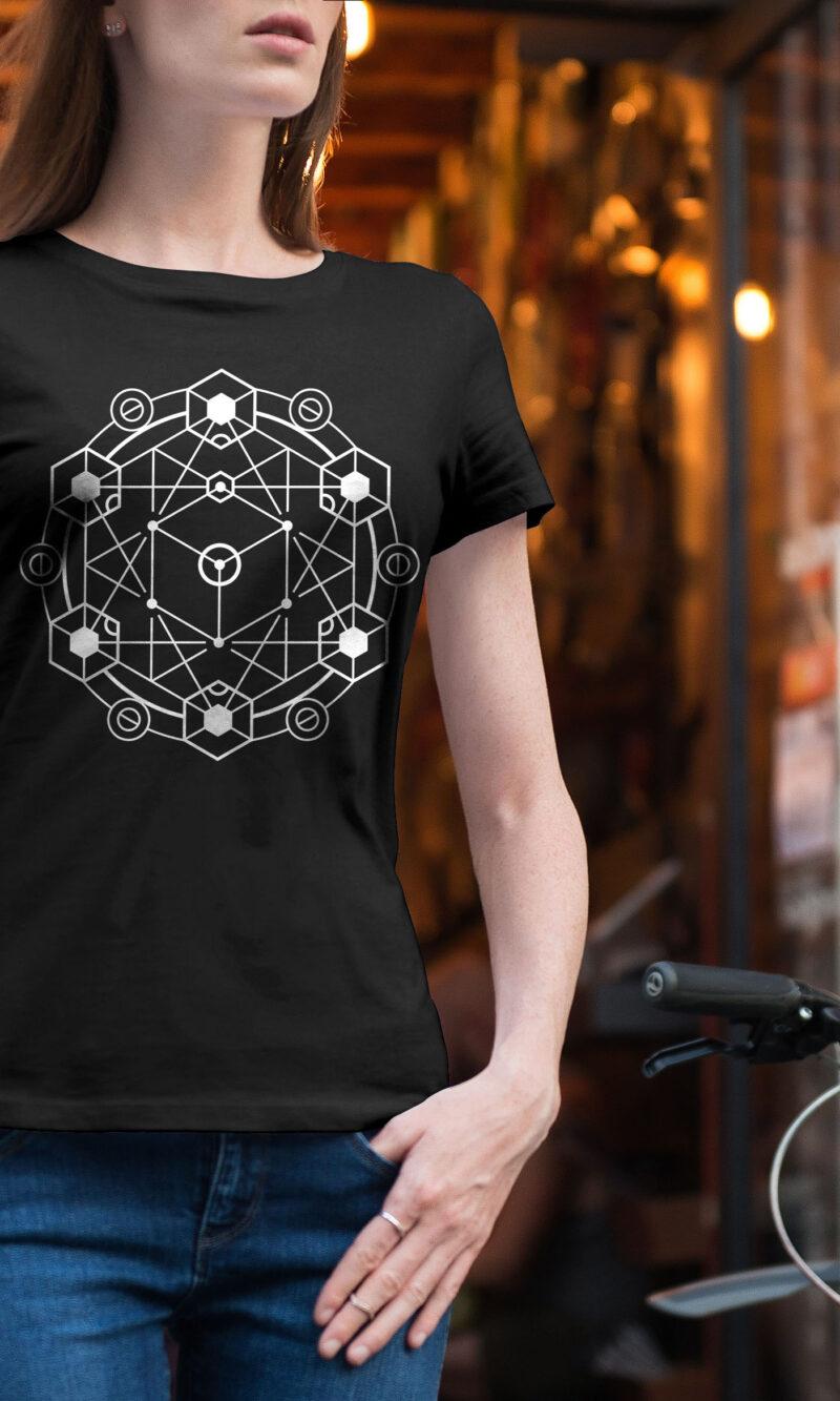 Women's T-shirt Mandala W 008