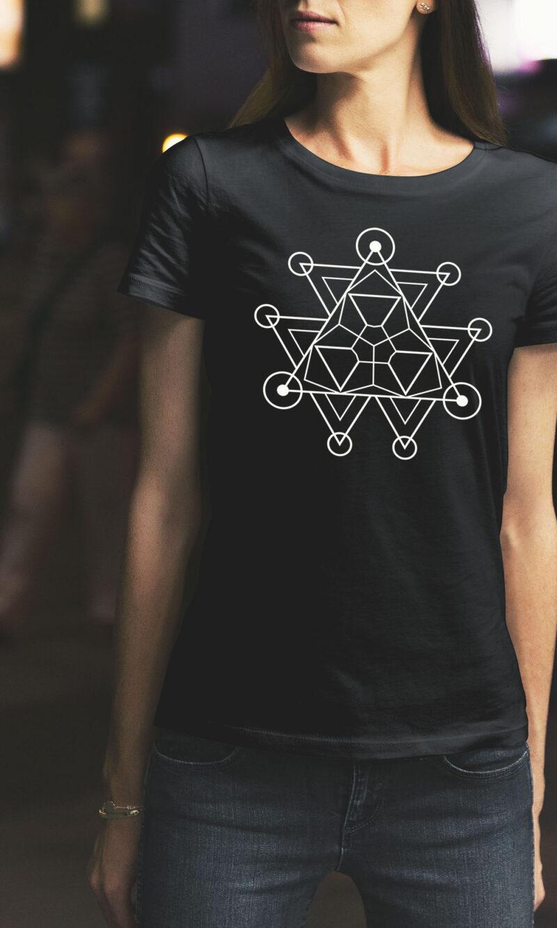 Women's T-shirt Mandala W 009