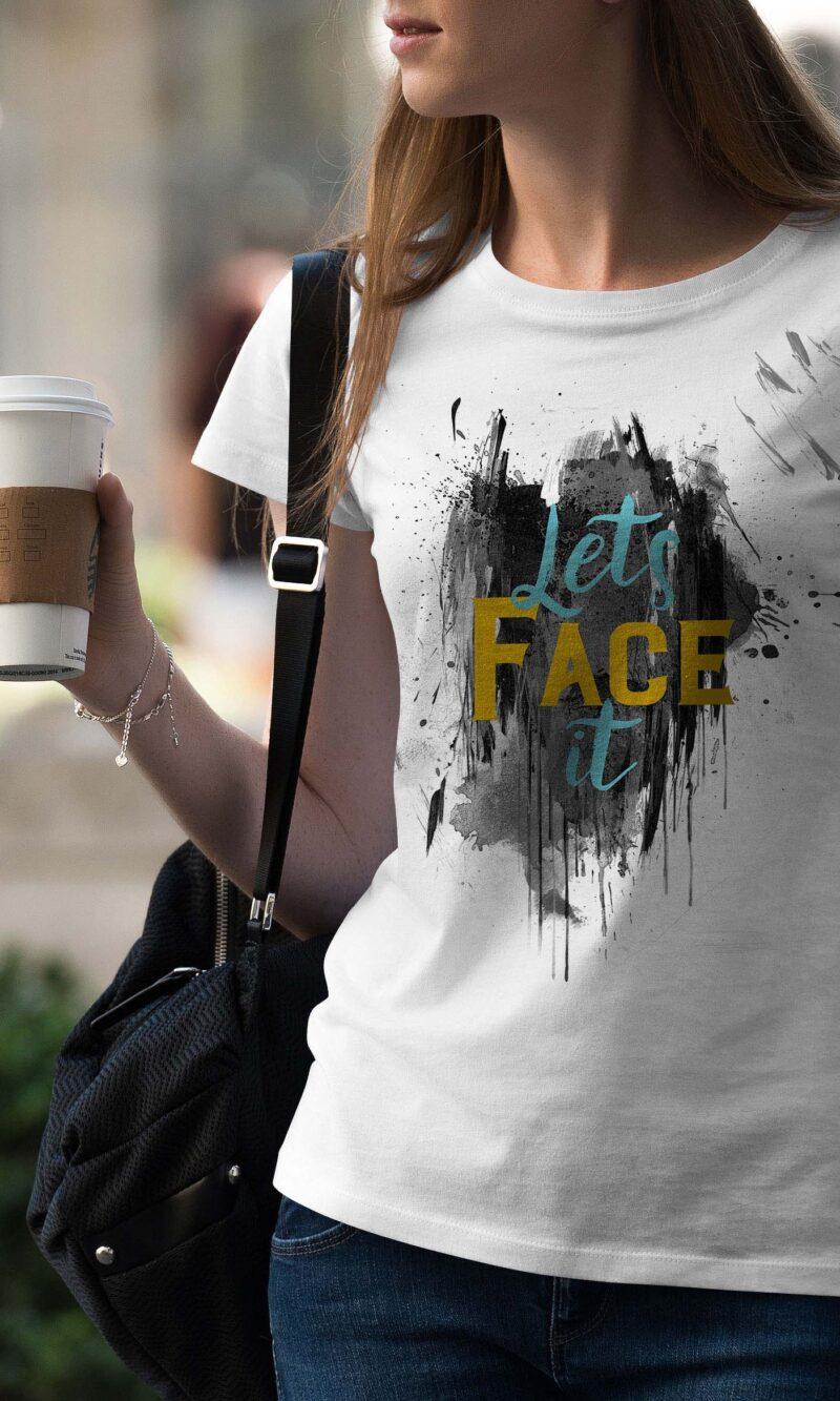 Women's T-shirt Sentence W 002