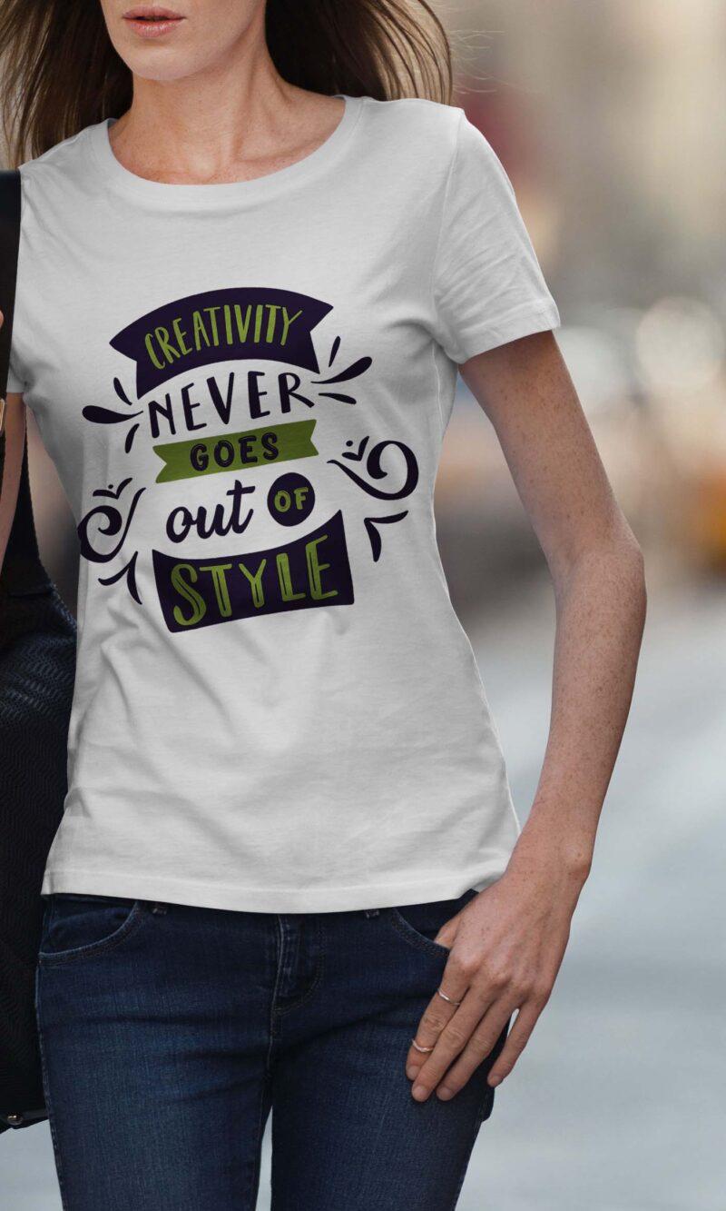 Women's T-shirt Sentence W 005
