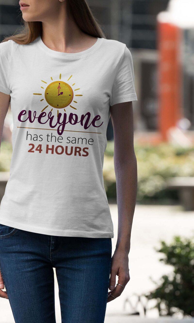 Women's T-shirt Sentence W 006