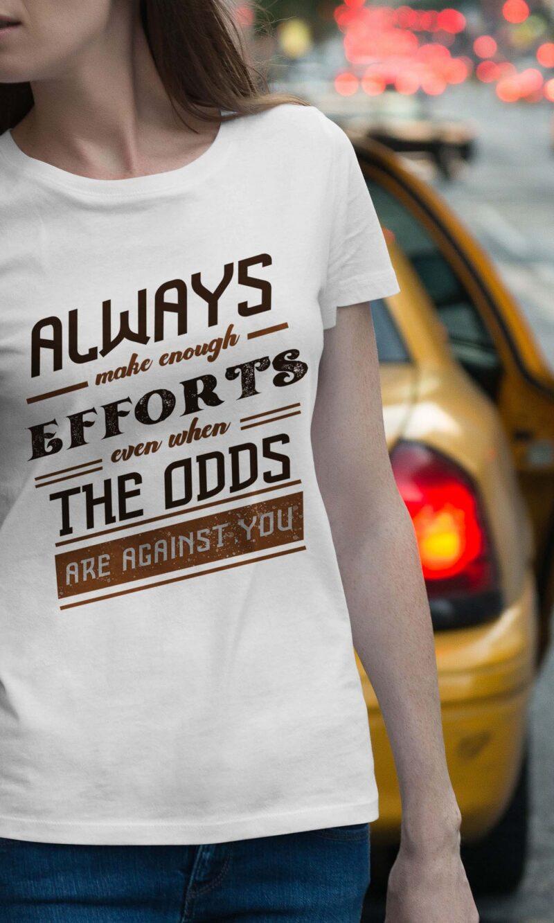 Women's T-shirt Sentence W 009