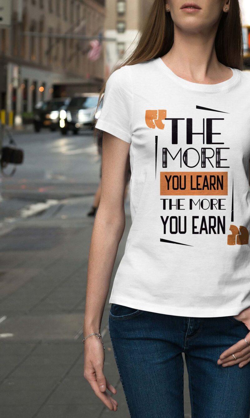 Women's T-shirt Sentence W 011