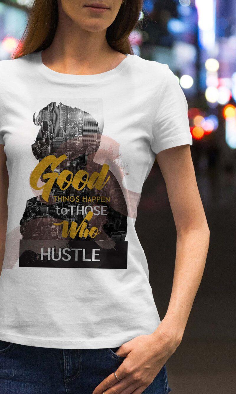 Women's T-shirt Sentence W 012