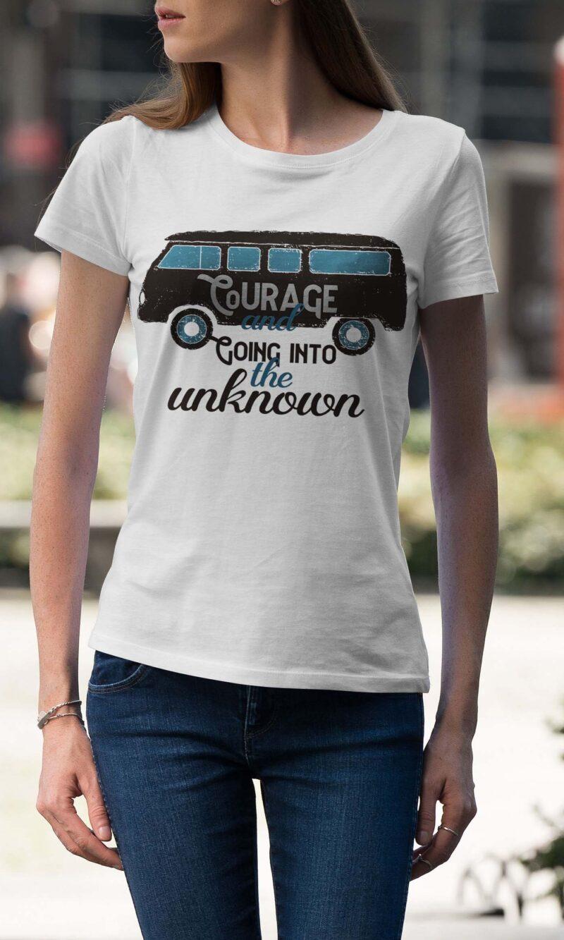 Women's T-shirt Sentence W 017